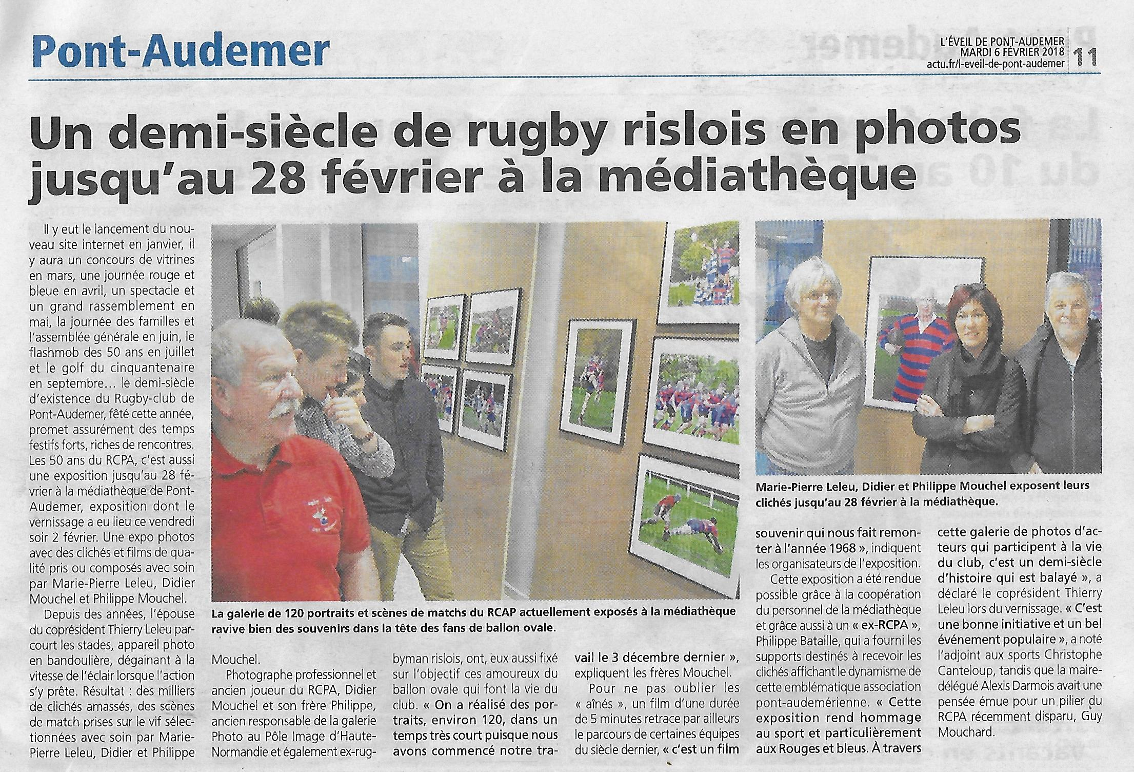 Rcpa Rugby Club Pont Audemer 50 Ans De Passions Ovale